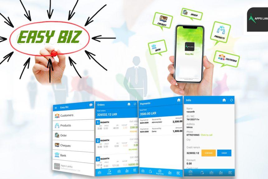 Easy biz – Mobile Application for Sales Management System